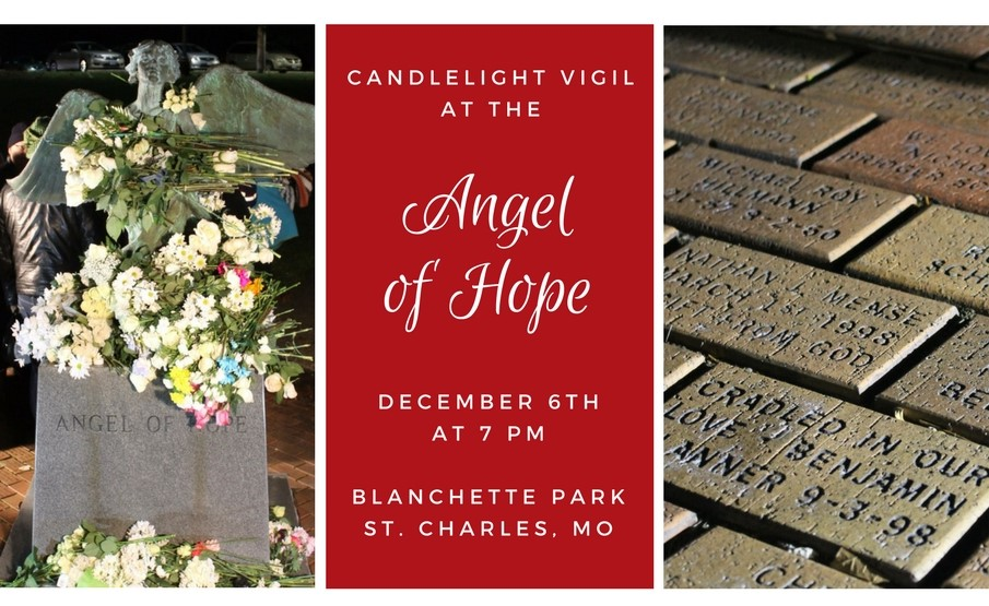 CandlelightVigil at the Angel of Hope