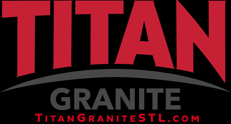 titan granite logo with website