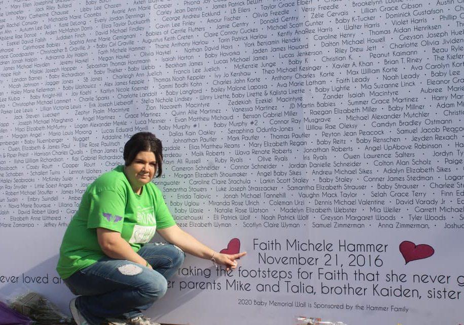 talia with wall